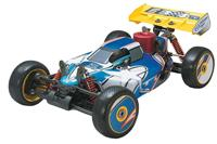 Thunder Tiger 6231-F102 1/8 Nitro Powered 4wd Race Ready Buggy EB-4 S3 2.4GHz RTR Blue